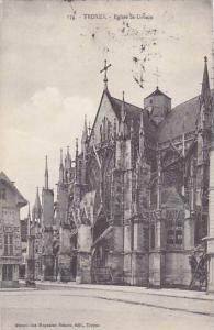 France Troyes Eglise St Urbain 1916
