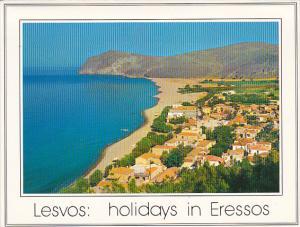 Greece Lesvos Eressos