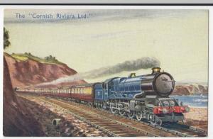 Cornish Riviera Ltd, Hauled By King Class No 6010 PPC By Photochrom, Unused