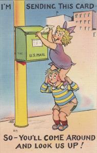 Im Sending You This Card So You'll Come Around and Look Us Up!, Asheville, No...