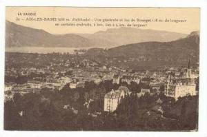 AIX-LES-BAINS, France,00-10s Panorama view