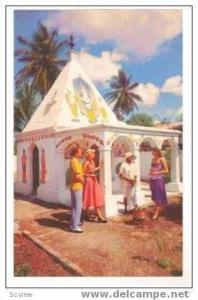 Hindu Temple, Port of Spain, Trinidad, 1950s