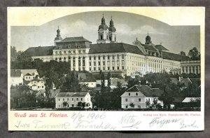 dc808 - Gruss aus StT FLORIAN Austria 1906 Postcard