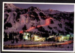 UT Ski Resort Area Skiing Slopes Snowbird near Salt Lake City Utah Postcard