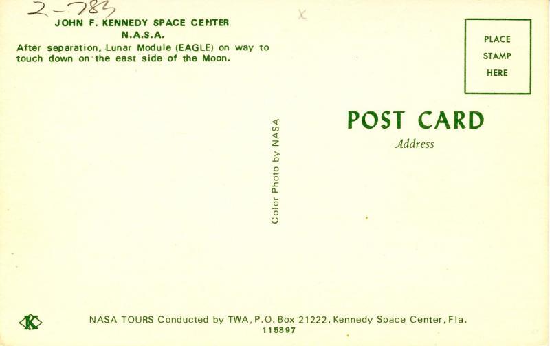 FL - Kennedy Space Center. The NASA Lunar Module (Eagle)     (NASA/Astronomy