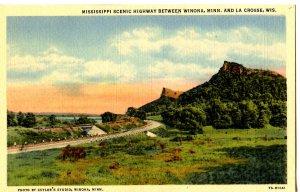 WI - La Crosse. Mississippi Scenic Highway