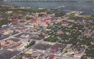 Florida Saint Petersburg Air View Of Saint Peterburg Florida Million Dollar P...