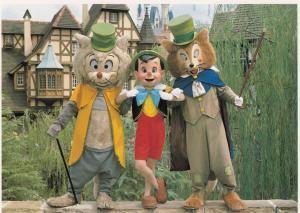 DISNEYLAND, 50-70s; Pinocchio, The Fox and Cat