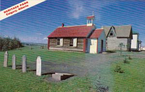 Heritage Park, Church, CALGARY, Alberta, Canada, 40-60´s