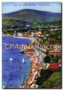 Old Postcard Juan Les Pins Vue Generale