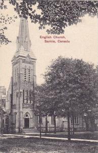 Exterior, English Church, Sarnia,Ontario,Canada,PU- 1907