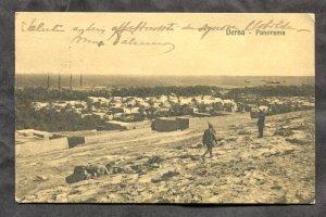 dc1837 - DERNA LIbya 1916 Italy Colony Postcard