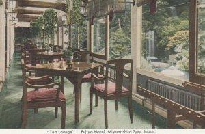JAPAN, 1900-10s; Tea Lounge Fujiya Hotel, Miyanoshita Spa