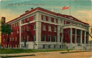 1911 POSTCARD Y M C A YMCA FORT DODGE IOWA IA