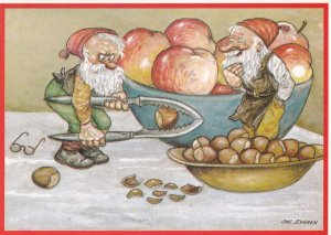 JAC. EDGREN, PU-1985; God Jul Gott Nyttar!