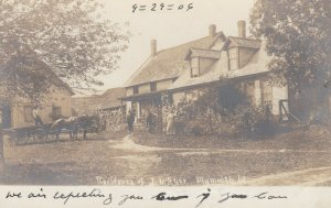 RP: PLYMOUTH , Vermont, 1906 ; Residence of J.N. Ayer