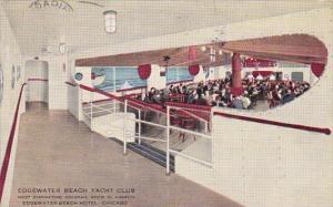 Edgewater Beach Yacht Club Edgewater Beach Hotel Chicago Illinois 1937