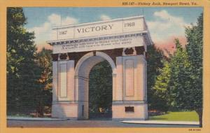 Virginia Newport News Victory Arch Curteich