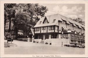 Fox Head Inn Niagara Falls Ontario ON Ont. Hotel Unused Postcard D42