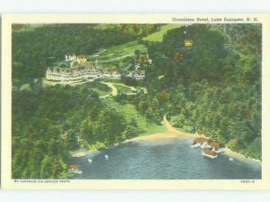 Linen GRADLINDEN HOTEL Lake Sunapee New Hampshire NH HQ3994