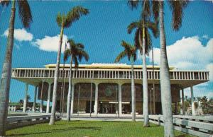 Hawaii Honolulu State Capitol Building 1971