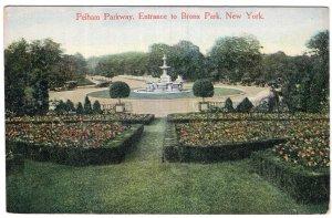 Pelham Parkway, Entrance to Bronx Park, New York
