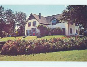 Unused Pre-1980 TOWN VIEW SCENE Cavendish Prince Edward Island PE p8381