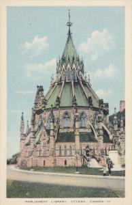 Parliament Library, Ottawa, Canada, 1930-40s