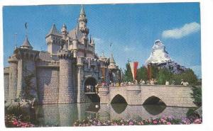 Exterior, Sleeping Beauty's Enchanted Castle, Disneyland,  40-60s