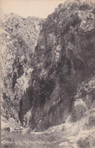 Castalia In The Rock, Delphi, Greece, 1900-1910s
