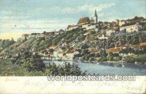 Carolinenberg Znaim Austria Postal Used Unknown, Missing Stamp