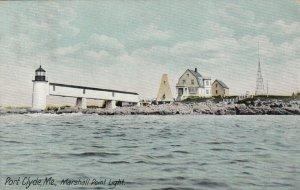 PORT CLYDE , Maine , 1911 ; Marshall Point Lighthouse