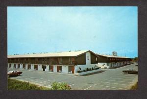 ME Susse Chalet Motor Lodge Motel Hotel Portland Maine Postcard PC