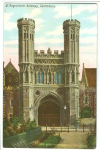UK, St. Augustine's Gateway, Canterbury, early 1900s