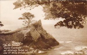 California Drive The Far Famed Lone Cypress Est Midway Point On  The 17 Mile ...