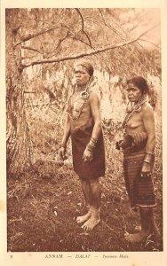 Dalat, Femmes Mois Annam Vietnam, Viet Nam Unused