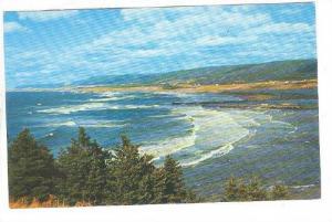 Margaree Coastline, Cape Breton, Nova Scotia, Canada, 40-60s