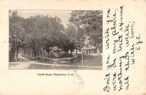 Hopkinton New Hampshire South Road Street Scene Antique Postcard K97078