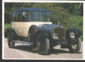 114539 CAR 1919 LANCHESTER 40 HP Saloon British Old postcard