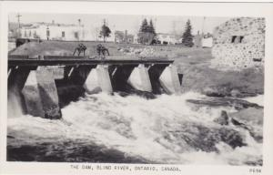 RP, The Dam, BLIND RIVER, Ontario, Canada, 1920-1940s