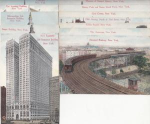 Lot 12 postcards early New York