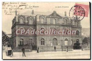 Old Postcard Le Havre Franklin Room