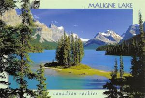 Canda Alberta Jasper National Park Maligne Lake Canadian Rockies