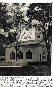 Exterior, Unitarian Church, Walpole,New Hampshire,PU-1906