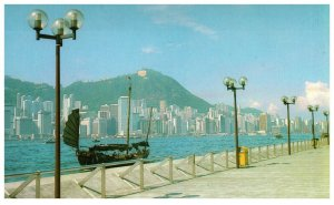 Central District Viewed From Kowloon Hong Kong Postcard PC1057