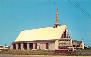 Fenwick Island Delaware~St Matthews-by-the-Sea Methodist Church~1950s Postcard
