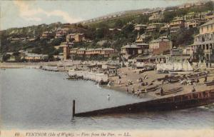 VENTNOR, View from the Pier, Isle of Wight, England, United Kingdom, 10-20s