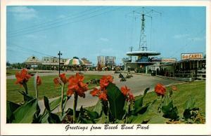 Bowling Green Kentucky~Beech Bend Amusement Park~Go Carts Track~Groceries~1960s