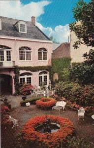 Maison Montegut Patio 729 Royal Street With Fountain New Orleans Louisiana