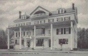 New Hampshire Franklin Daniel Webster Inn Albertype
